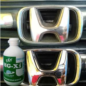 Tẩy ố mốc đốm nước trên các thiết bị Chrome HG X1 HARDWATER STAIN REMOVER for Car 250 ML