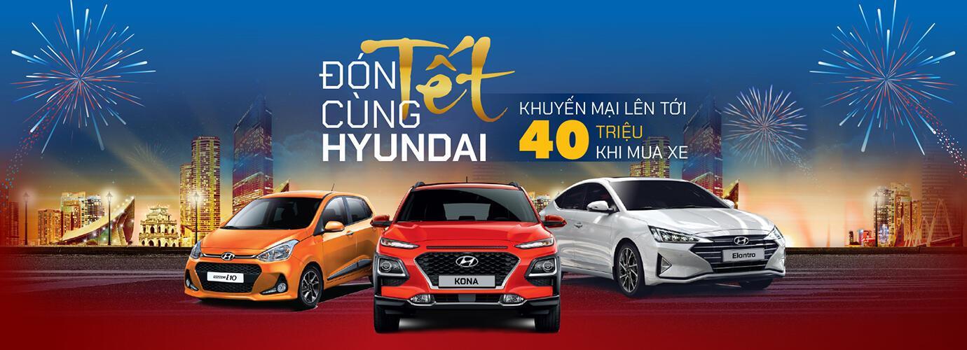 TC MOTOR thực hiện chương trình khuyến mại lên đến 40 triệu đồng dành cho Hyundai KONA, Elantra và Grand i10