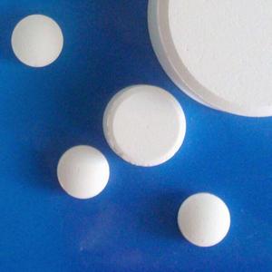 Chất khử trùng TCCA (TriChloroisoCyanuric Acid - C3Cl3N3O3) 90%