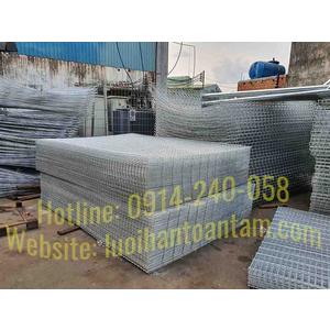 TCVN 9391:2012: Lưới thép hàn dùng trong kết cấu bê tông cốt thép