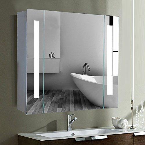 Tủ gương đèn led chữ nhật Citybuilding CBJ68