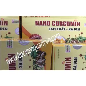 Nano Curcumin Tam Thất Xạ Đen - Học Viện Quân Y