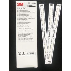 Test chỉ thị hóa học kiểm tra chất lượng tiệt khuẩn y tế 3M Comply 1250