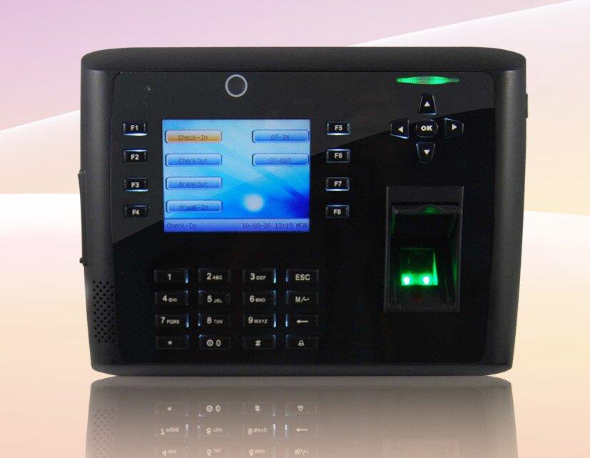 Máy chấm công kiểm soát cửa vân tay, thẻ TFT 900 dung lượng lớn