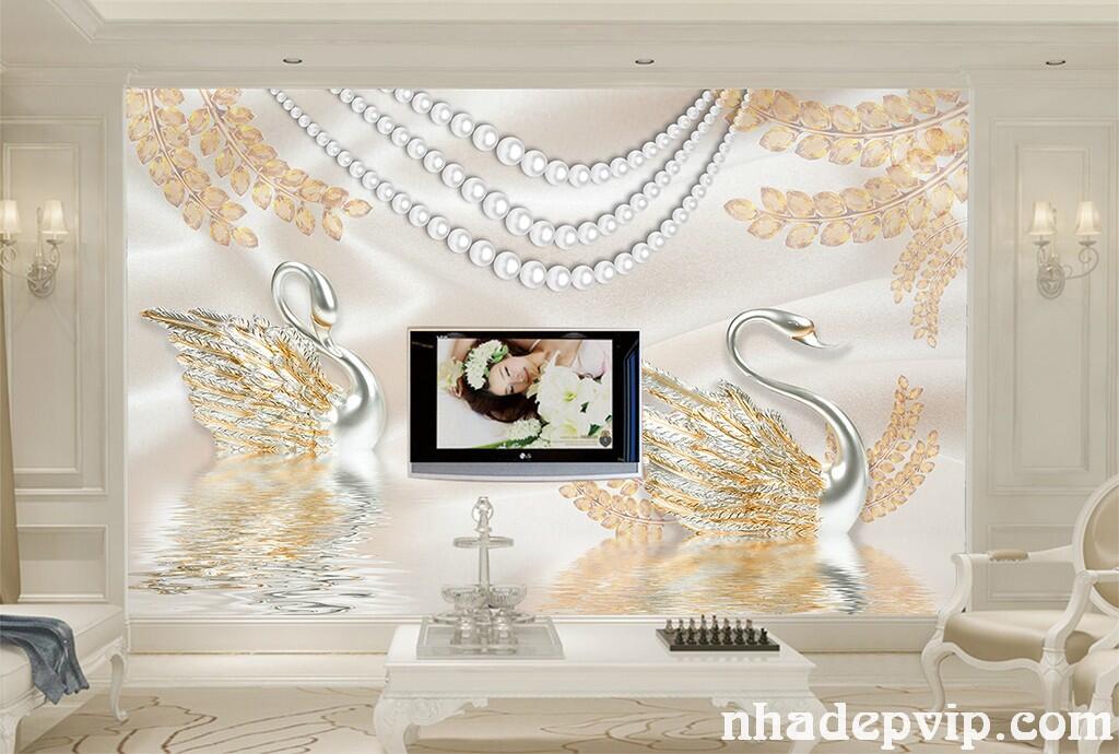 GẠCH 3D TƯỜNG HOA TH17
