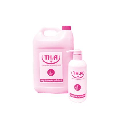 Dung dịch rửa tay phẫu thuật TH.A4 Chlorhexidine Digluconate 4% 500 ml & 5 lít