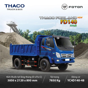 Thaco Forland FD140 - 7,85 tấn - 6,5 m3