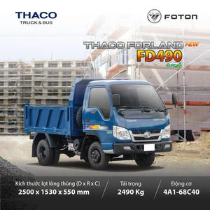 THACO FORLAND FD490 - 2.490 KG ~ 2,1 m3