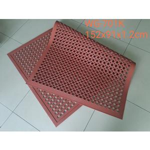 Thảm cao su chống trượt WG 2350 - đỏ