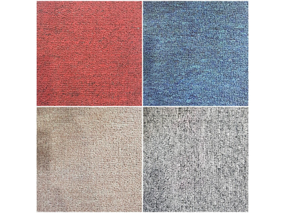 Thảm cuộn màu trơn loại mỏng