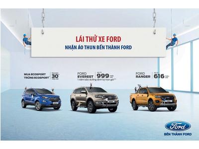 Tham dự Lái thử xe Ford tháng 05-2020 I Ford Bến Thành Hotline 093 7983 777