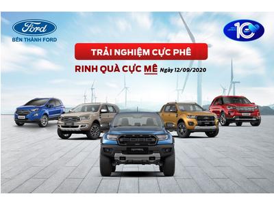 Tham dự Lái thử xe Ford tháng 09-2020 I Ford Bến Thành Hotline 093 7983 777