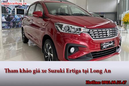 Tham khảo giá xe Suzuki Ertiga tại Long An