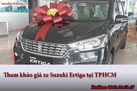 Tham khảo giá xe Suzuki Ertiga tại TPHCM