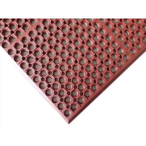 Thảm cao su chống trượt - WG701A - Đỏ - Đen