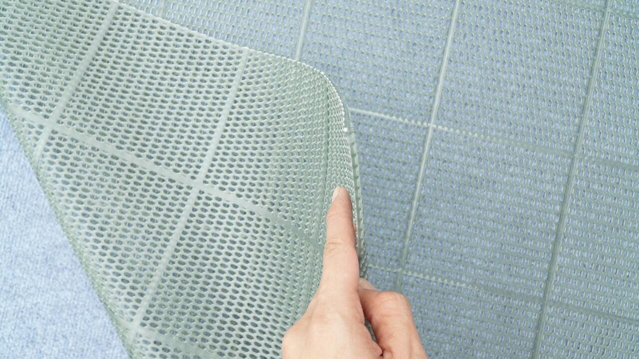 thảm nhựa lưới chống trượt