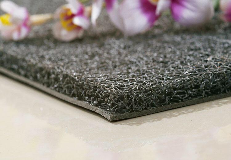 thảm nhựa sợi mì