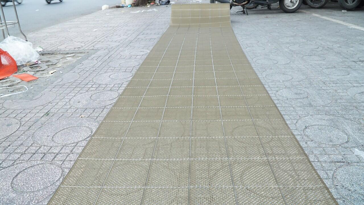 thảm nhựa trải sàn