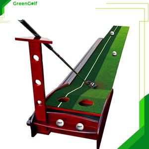 Thảm Tập Putting Golf Gỗ - Thảm Tập Putt Tại Nhà Tiện Lợi