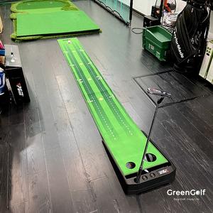 Thảm Putt Golf Mẫu Mới Tự Động Bật Bóng Trả Lại/ Có Vạch Line Khoảng Cách/ Chính Hãng PGM/ Kích Thước 0.4x3m (Có VIDEO)