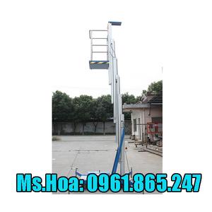 Thang nâng 12 mét, xe nâng điện nâng người làm việc trên cao