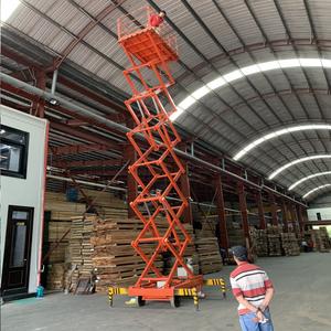 Thang nâng người ziczac 12m tải 300kg - bán tự động