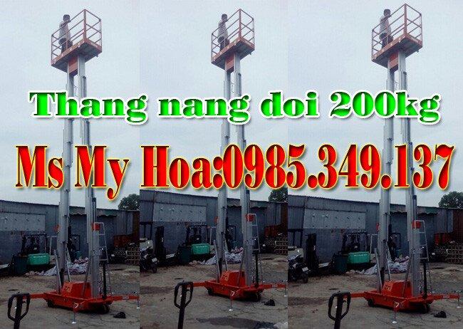 Thang nâng đôi 12m, Thang nâng đôi GTWY12-200S
