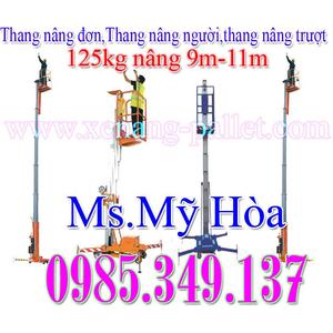 Hàng sẵn Thang nâng đơn 125kg-11m, Thang nâng đơn DAG1100