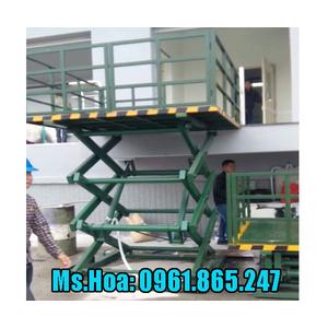Thang nâng hàng 1 tấn nhập khẩu chính hãng
