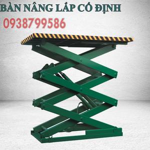 THANG NÂNG HÀNG 10 TẤN/ CAO 1.7M