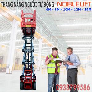 Thang nâng người ziczac 10m tự hành - sức nâng 320kg của Noblelift