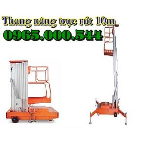 Thang nâng người 125 kg - 10m, thang nâng người 10 m giá sốc