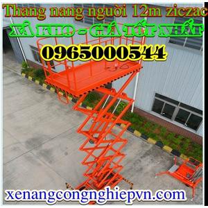 Thang nâng người 12M - 300 kg giá rẻ hàng có sẵn