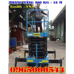 Thang nâng người 12m, thang nâng người 500 kg - 12M