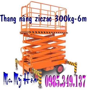 Giảm giá Thang nâng người 300kg cao 6m