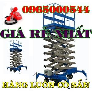 Thang nâng người 500 kg - 9m hàng có sẵn giá rẻ