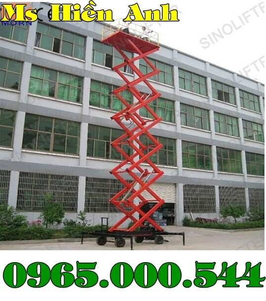 Thang nâng người 9m chất lượng nhập khẩu giá tốt nhất