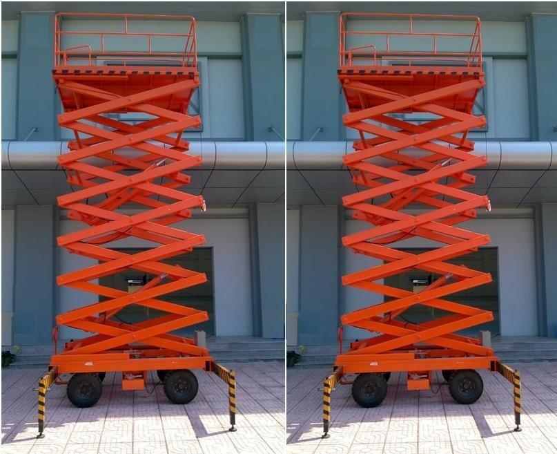 thang nâng ziczac , xe nâng người , thang nâng người , thang nâng cao 10 mét