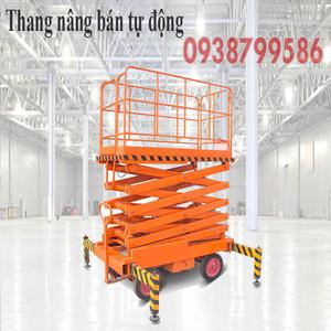 Thang nâng người ziczac 9m tải 300kg - bán tự động