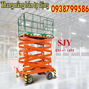 Thang nâng người ziczac 11m tải 500kg - bán tự động