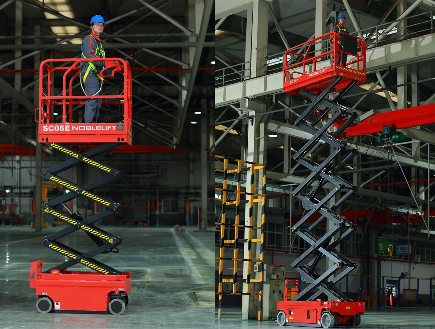 xe nâng người tự hành , xe nâng thi công , thang nâng người , xe nâng người 12 mét