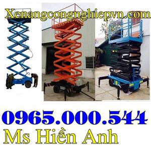 Thang nâng người tại Hà Nội 6m 9m 12m giá rẻ giao nhanh