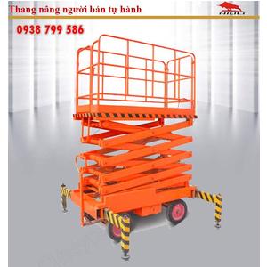 Thang nâng người ziczac 12m tải 500kg - bán tự động