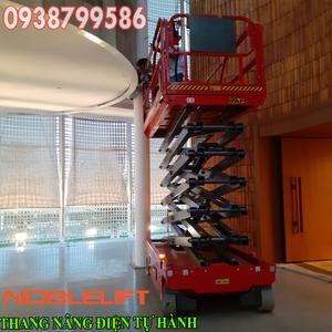 Thang nâng người ziczac 14m tự hành - sức nâng 200kg của Noblelift