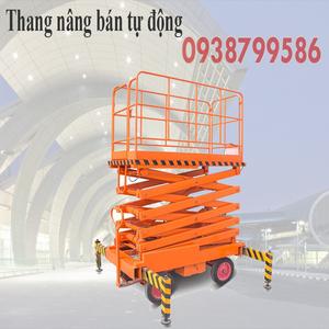 Thang nâng người ziczac 16m tải 300kg - bán tự động