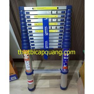 Thang nhôm rút đơn 4.4m NIKAWA