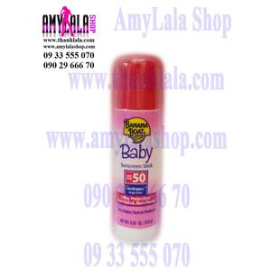 Thanh lăn chống nắng Banana Boat Baby Face & Body Stick Suncreen SPF50/UVA/UVB 15.6g - - 0933555070