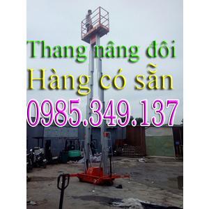 Thanh lý Thang nâng đôi 12m, Thang nâng đôi GTWY12-200S