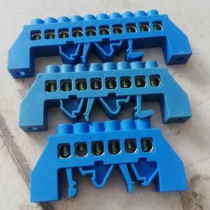 Thanh trung tính, tiếp địa vỏ nhựa 6P