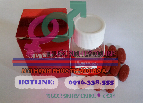 Thảo Dược cương dương Red Gold Viagra 800 mg
